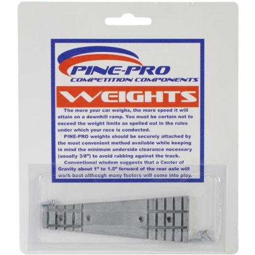 Kiefer Auto Derby Keil Gewicht mit Schrauben,-/Bratenspritze, 1er Pack - Kiefer Gewichte Derby