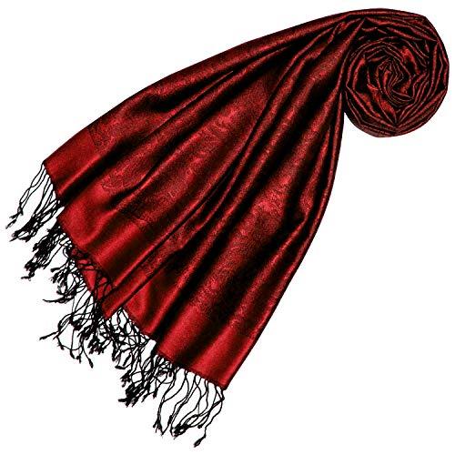 LORENZO CANA Luxus Damen Wendeschal Schal Schaltuch 100/% Kaschmir leicht kuschelweich Kaschmirschal Kaschmirtuch Double Face zweifarbig 78546