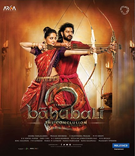 BAHUBALI 2: The Conclusion Film ~ Bollywood BLU-RAY ~ Hindi mit englischem Untertitel ~ India ~ 2017 – Prabhas, Rana Daggubati, Anushka Shetty