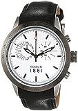 Cerruti 1881 Herren-Armbanduhr XL UDINE Analog Quarz Leder CRA096A212G
