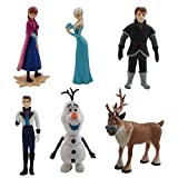 Tootpado Cartoon Characters Action Figures (Set Of 6 Pcs) - Fun And Entertainment Toy Set For Kids