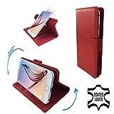 Archos 50 Saphir - Premium Echtleder Smartphone