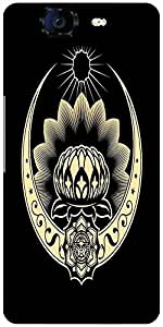 Snoogg Celtic Logo 2517 Designer Protective Back Case Cover For Micromax Canvas Knight A350