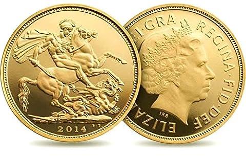 Full Doré Sovereign–Idéal pour vos Investissements, collectionneurs, des cadeaux et Richesse protection