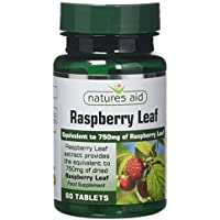Natures Aid Raspberry Leaf 60 Tablets (Botanical Supplement... - ukpricecomparsion.eu