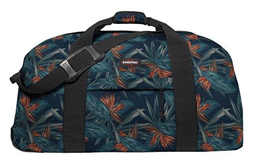 Eastpak Warehouse Bagaglio con Ruote, 151 Litri, Blu (Midnight) Multicolore (Orange Brize)