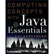 By Cay S. Horstmann - Computing Concepts with Java Essentials: World Student Edition (3rd Edition)