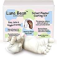 Luna Bean Infant Plaster Statue Casting Keepsake Kit - Cast Baby Hand &