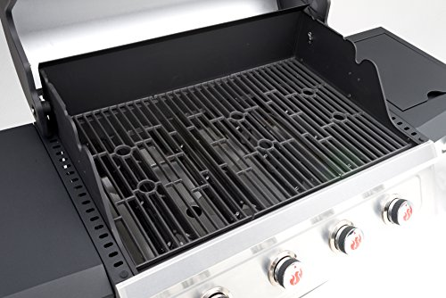 Landmann Barbecues 12660 Miton 4.1 Burner Gas Barbecue - Grey