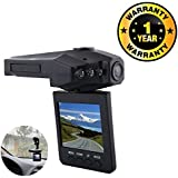 Rhobos Car DVR Dash Cam Driving Recorder Mini Portable 1080p HD Cam Compatible With Xiaomi, Lenovo, Apple, Samsung, Sony, Oppo, Gionee, Vivo Smartphones (One Year Warranty)