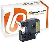 Bubprint Schriftband kompatibel für Dymo 45023 S0720630 für Labelmanager 150 160 210D 280 420P 450D PnP Labelpoint 100 150 200 250 350 Labelwriter 400