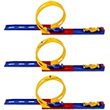 Perpetual Bliss™ (Pack Of 3) Track Set Toy For Kids, Return Gifts For Kids Birthday Party (for More Gifts Search For Perpetual Bliss™)
