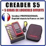 Valise Interface CREADER S5 Pro USB Voiture Scanner OBD OBD2 Diagnostic MULTIMARQUE