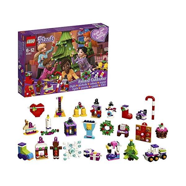 Lego Friends Calendario dell'Avvento, 41353 1 spesavip
