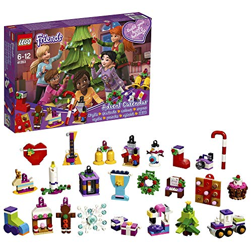 Lego Friends Calendario dell'Avvento, Multicolore, Taglia Unica 5702016112054