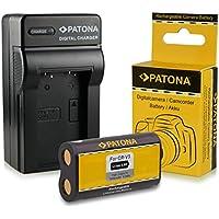 Caricabatteria + Batteria CR-V3 per Kodak EasyShare C300 | C310