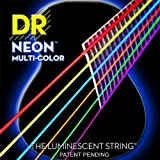 DR A NEON MCA-12 HiDef Acoustic Saite mehrfarbig