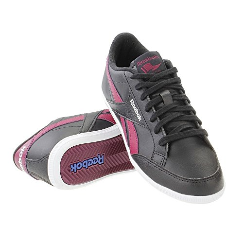 Reebok - Royal Transport S, Scarpe sportive Donna Nero (Negro (Black / Rebel Berry / White))