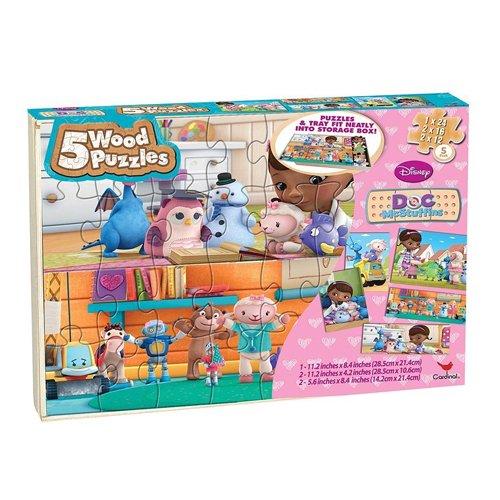 SAMBRO Doc McStuffins Holz Puzzle (3Stück) Mickey-mouse-holz-puzzle