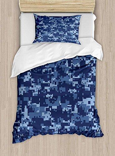 NewThangKa Bettwäsche-Set, Doppelbett, King-Size, Kalifornien, 3D-Druck, 4-teiliges Bettwäsche-Set für Jungen und Mädchen und Erwachsene Twin Size Color8 (Twin Bettwäsche-sets Jungen)