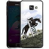 Samsung Galaxy A3 (2016) Housse Étui Protection Coque Cheval Équitation Faire du cheval