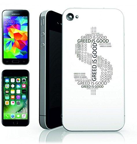 Smartphone Case segno di dollaro di denaro valuta simbolo di imbardata di carbone della pasta del dinero di bar denaro schnoeden Mammon della Scala di grigi per Apple Iphone 4/4S, 5/5S, 5C, 6/6S, 7