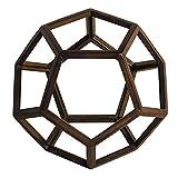 Dodécaèdre de Platon en bois