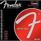 Fender 7250ml Cuerdas para bajo eléctrico (045–100