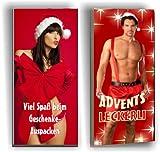 2 x Weihnachts-Schokolade SEXY für SIE und IHN