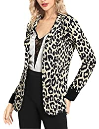 ... Accesorios   Sombreros y gorras   Sombreros de vestir   Amarillo.  Mujeres Blazer Elegante Oficina Traje de Chaqueta Outwear Casual STRIR b4387f6f855