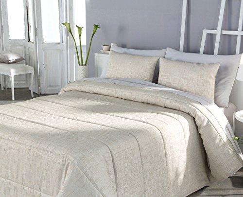 textilonline – Couvre-lit bouti Belkis Cama 105 cm. Couleur beige