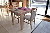 Black Red White Small Extending Dining Table Oak Sonoma Ideal for Small Rooms And Kitchens!