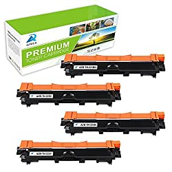 Aztech 4 Pack Xxl Replacement For Brother Tn241 Tn-241 Tn 241 Tn245 Tn 245 Toner Cartridge For Brother Brother Dcp-9020cdw Toner Brother Hl-3140cw Toner Brother Hl3140cw Toner Brother Hl-3150cw Toner Hl-3170cdw Toner Brother Mfc-9340cdw