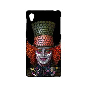 BLUEDIO Designer 3D Printed Back case cover for Sony Xperia Z1 - G4655