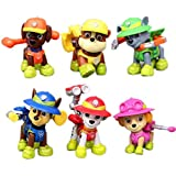 Paw Patrol Concentration Camp With Super Paw Accessories - Set Of 6 Paw Pups & Their Power Tools