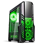 Rogue II Red: Gehäuse Gaming Schwarz/Rot ATX–Kartenleser SD/microSD–7Ports Erweiterungsmodul–3Lüfter: 2x 120mm in Fassade grün grün Norme
