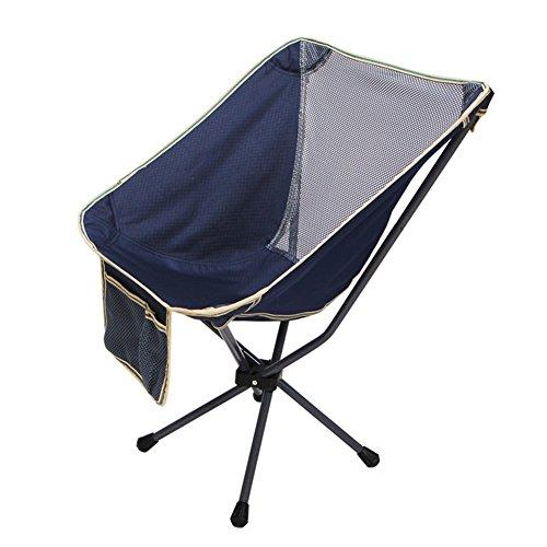 HM&DX Portable Plein Air Chaises Pliantes Chaises De Camping Chaise De Plage Pliante Heavy Duty 100 Kg,Avec Badminton Sac,Pour Sac à Dos Randonnée Plage Pêche Jardin