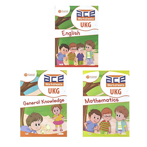 Ukg Kids Ace All In One Worksheets 260 Pages Kg 2 And Montessori