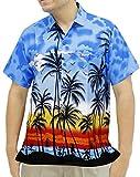 La Leela aloha bouton coupe décontractée classique chemise à manches ...