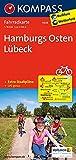 Hamburgs Osten, Lübeck: Fahrradkarte - GPS-genau - 1:70000 (KOMPASS-Fahrradkarten Deutschland, Band 3008) -