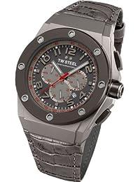 Los hombres que puede llevar a cabo el CEO de TW Steel David Coulthard edición Relojes de 48 mm reloj CE4002