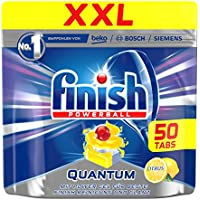 Finish Quantum Citrus, spülmaschinen Tabs, XXL, 50tablettes, 6.6kg