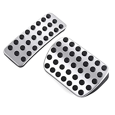 Gas Brake Foot Rest Pedal AT fit Mercedes Benz A B CLA GLA ML GL R Class A200 W176 W245 W246 W251 W164 W166 X164 X166 C177 X156 Stainless steel & non-slip Rubber, Environment friendly. Only Fit Left Hand Drive