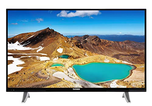 Telefunken XU40E411 102 cm (40 Zoll) Fernseher (4K Ultra HD, Triple Tuner, Smart TV, HDR10) (40 4k Tv)