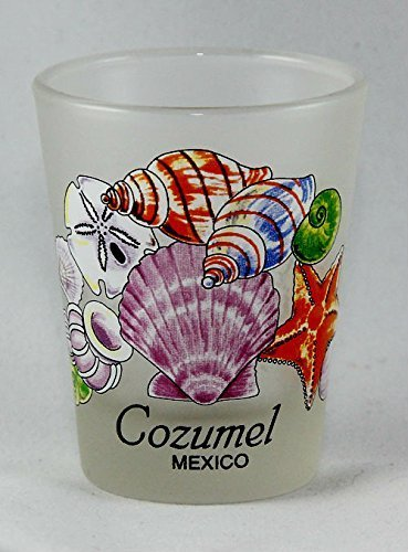 Cozumel Glas (Cozumel Mexiko Muscheln Shot Glas von World by Shotglass)