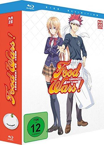 Food Wars! - Vol.1 + Sammelschuber - Limited Edition [Blu-ray] -