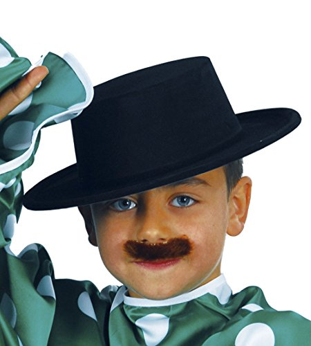 guirca-sombrero-cordobes-flocado-para-ninos-color-negro-13340
