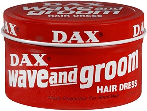 DAX Crème coiffante Wave & Groom cheveux robe 3.5oz Pot.