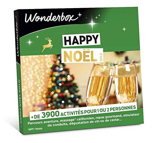 Wonderbox - Coffret cadeau noel - HAPPY NOEL - + de 3900...