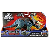 Jurassic World Mega Ataque Doble, Nasutoceratops, dinosaurio de juguete (Mattel GGK11)